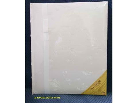 B40CR BOTIA-WHITE klasični 24x29/40 strani (Z NAPAKO)