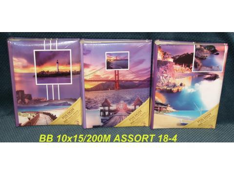 BB200M ASSORT 18-4 memo 10x15/200 slik