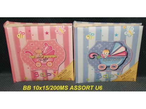 BB200MS ASSORT U6 memo MS 10x15/200 slik