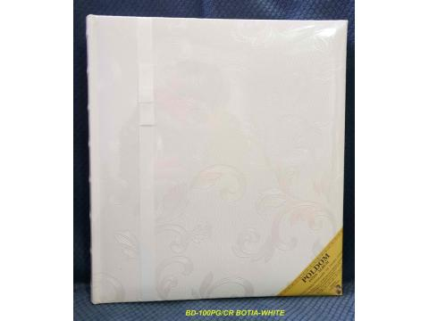 BD100CR BOTIA-WHITE klasični 29x32/100 strani, beige listi